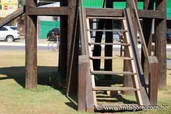 Prefeitura de Lucas do Rio Verde inicia reforma de playgrounds de madeira - MT Agora