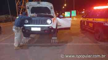 Veículo SUV roubado pela segunda vez é recuperado em Rio Verde - O Popular