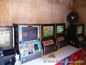 Máquinas caça-níqueis são apreendidas em Areal - Estado - Foco Regional