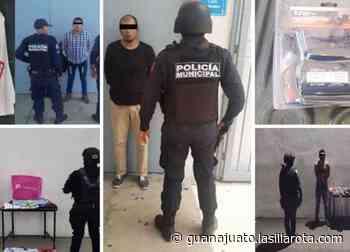 Capturados 4 ladrones de tiendas comerciales de Celaya: así operan - La Silla Rota