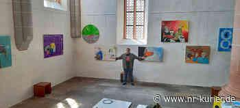 Kirchenhängung des Unkeler Neo-Pop Art-Künstlers Malte Sonnenfeld in Stadtkirche Schwabach - NR-Kurier - Internetzeitung für den Kreis Neuwied