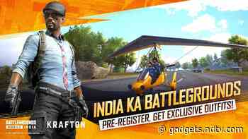 PUBG Mobile's India Avatar Battlegrounds Will Likely Require OTP Authentication to Log In