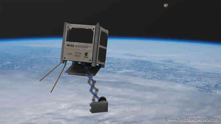 Wisa Woodsat wooden CubeSat heading to Earth's orbit