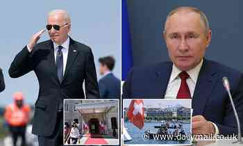 Joe Biden faces the biggest diplomatic test of his presidency as he sits down with 'worthy opponent'