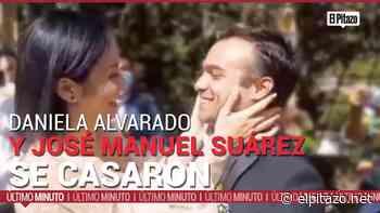 De amigos a esposos: la historia entre Daniela Alvarado y José Manuel Suárez - El Pitazo