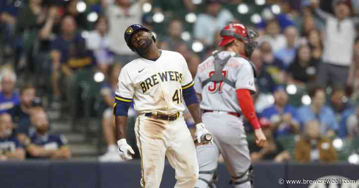 Brewers fall to Reds 2-1 in 10 innings