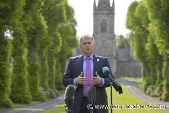 Brandon Lewis to explore 'all options available' on Irish language laws - Barrhead News