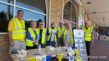 East Renfrewshire u3a sets up stall outside Barrhead store - Barrhead News