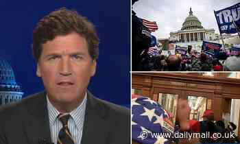 'FBI operatives were organizing attack on the Capitol': Tucker Carlson claims insurrection planned