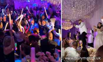 Incredible footage of celebration dubbed 'Sydney's biggest wedding'