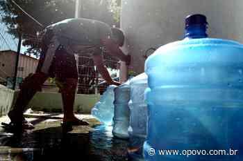 Falta d'água: bairros de Fortaleza e Caucaia podem ficar sem abastecimento nesta 4ª; veja lista - O POVO