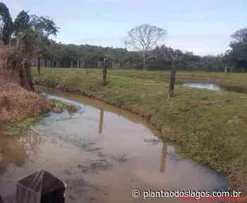 Rios de Saquarema passam por limpeza - Plantao dos Lagos