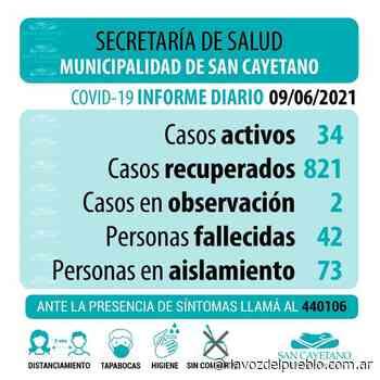 San Cayetano registró siete nuevos casos de coronavirus - La Voz del Pueblo