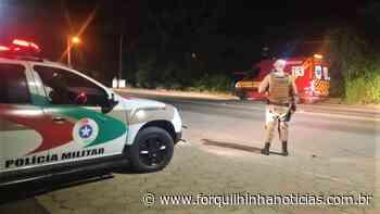 Motociclista fica ferido em acidente na Vila Franca - Forquilhinha Notícias