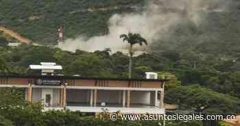 Se registró una fuerte explosión en el batallón de Cúcuta que dejó varios heridos - Asuntos Legales