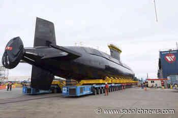 WATCH: Navy surveillance submarine returning to Victoria waters – Saanich News - Saanich News