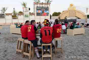 Meteen 400 supporters in 360 Beach - Gazet van Antwerpen