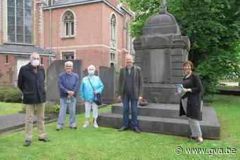 Verweerde praalgraven rond Sint-Guibertuskerk worden opgeblonken - Gazet van Antwerpen