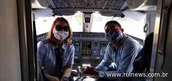 Avião que começou a ser operado em Vilhena é comandado por mulher - ROLNEWS