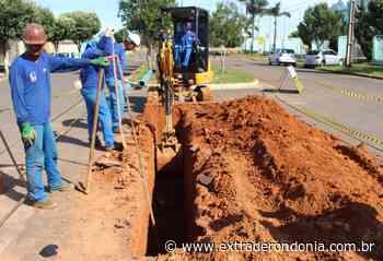 Em Vilhena, obras na rede de água atingem 15 km e são finalizadas na Tancredo Neves; diretor do SAAE comenta – Extraderondonia.com.br - Extra de Rondônia