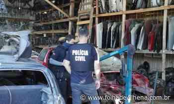 Ladrões furtam seis mil quilos de sucatas em fazenda próximo de Vilhena ⋆ Folha de Vilhena - Folha de Vilhena