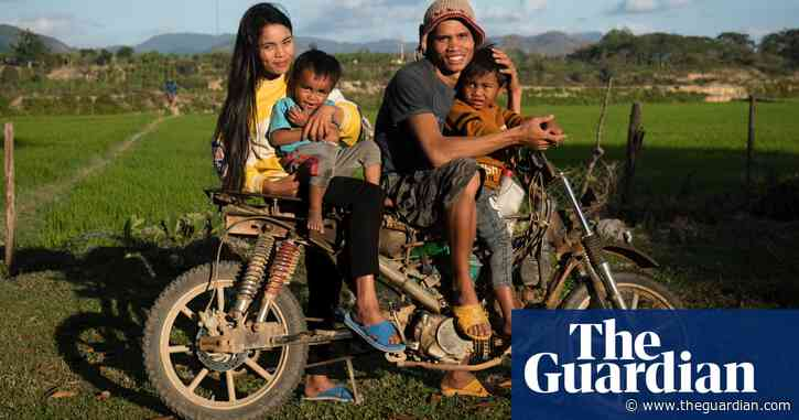 'It's not easy': seven working parents around the world – photo essay