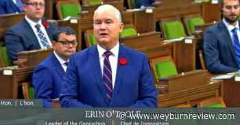 Federal Conservative leader to address Weyburn Chamber of Commerce - Weyburn Review