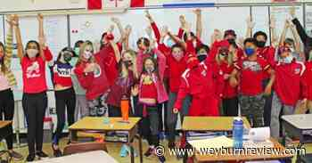 St. Michael classes dress for Skittles day - Weyburn Review