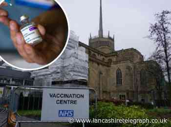 Over-21s in East Lancashire have been invited to book their Covid-19 vaccination