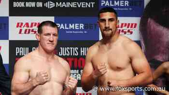 What time does Gallen vs Huni fight actually start?