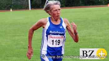 Renate Richter läuft 200-Meter-Rekord