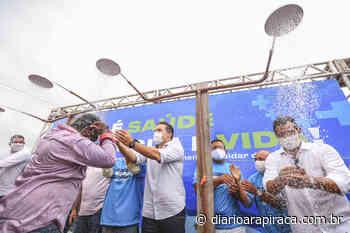 Governador inaugura sistema de abastecimento que leva água para sertanejos - Diário Arapiraca