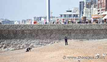 Arrest after report of sexual assault on Brighton beach