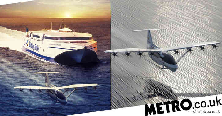 All-electric 'flying ferries' will zip passengers to France in 40 minutes