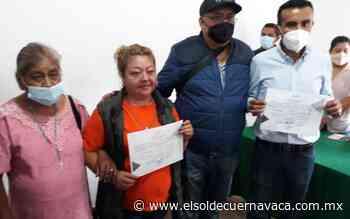 Isaac Pimentel recibe la constancia de mayoría - El Sol de Cuernavaca