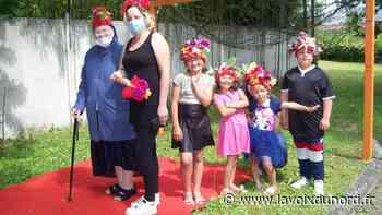 Libercourt: avec sœur Paule, la fête des fleurs a battu son plein au centre de loisirs Saint-Jospeh - La Voix du Nord