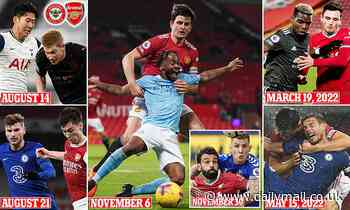 The 10 Premier League games you HAVE to watch during 2021-22 season as the fixtures are announced