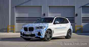 BMW i Hydrogen Next fuel cell vehicle begins testing on public roads     - Roadshow