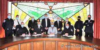 La nouvelle convention collective des pompier... - Journal Les 2 Rives - Les 2 Rives
