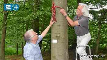 Mit Kunst im Wald von Herdecke und Wetter die Natur würdigen - Westfalenpost