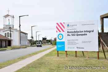 Vecinos de Quequén respaldan la obra de la 502 - TSN Noticias