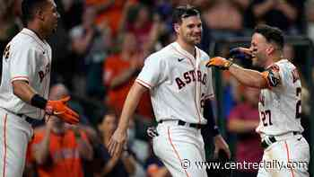 Altuve hits grand slam in 10th, Astros rally past Rangers - Centre Daily Times