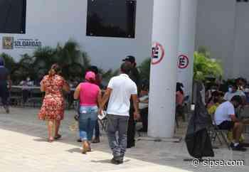 Playa del Carmen: Acuden pocas personas por vacunación contra el Covid-19 - sipse.com