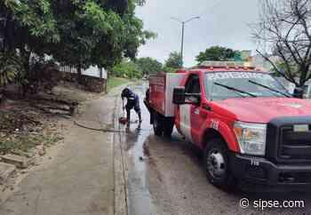 Playa del Carmen: Lluvias afectan a zona habitacional; prevén que continuará el mal tiempo - sipse.com