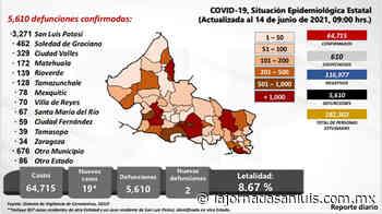 En Rioverde y Valles, segunda dosis de vacuna contra Covid-19 a población de 50 y más años: SS - La Jornada San Luis