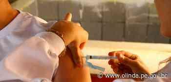 Olinda avança na Campanha Nacional de Imunização contra Influenza - Prefeitura de Olinda