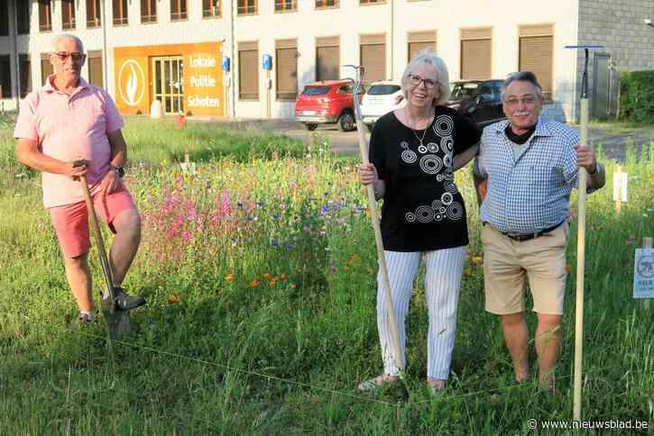 Wonderbaarlijke transformatie Gasketelplein: van stenen woestijn naar kleurrijke bloemenweide dankzij Adam, Fons en Magda