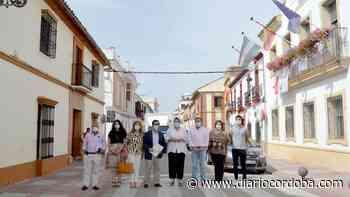 Villafranca remodela la calle Alcolea y la plaza de Andalucía para promocionar la movilidad peatonal - Diario Córdoba