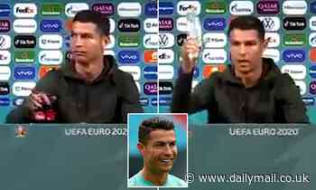 Euro 2020: UEFA respond after Cristiano Ronaldo told fans to drink water instead