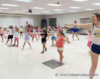 Cheer & Dance camp ends with showcase - L'Observateur - L'Observateur